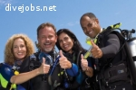 Dive trainees for Madeira