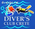 Diver's Club Crete looking for PADI Instructors and DMs