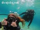FREE dive master PADI internship Mykonos